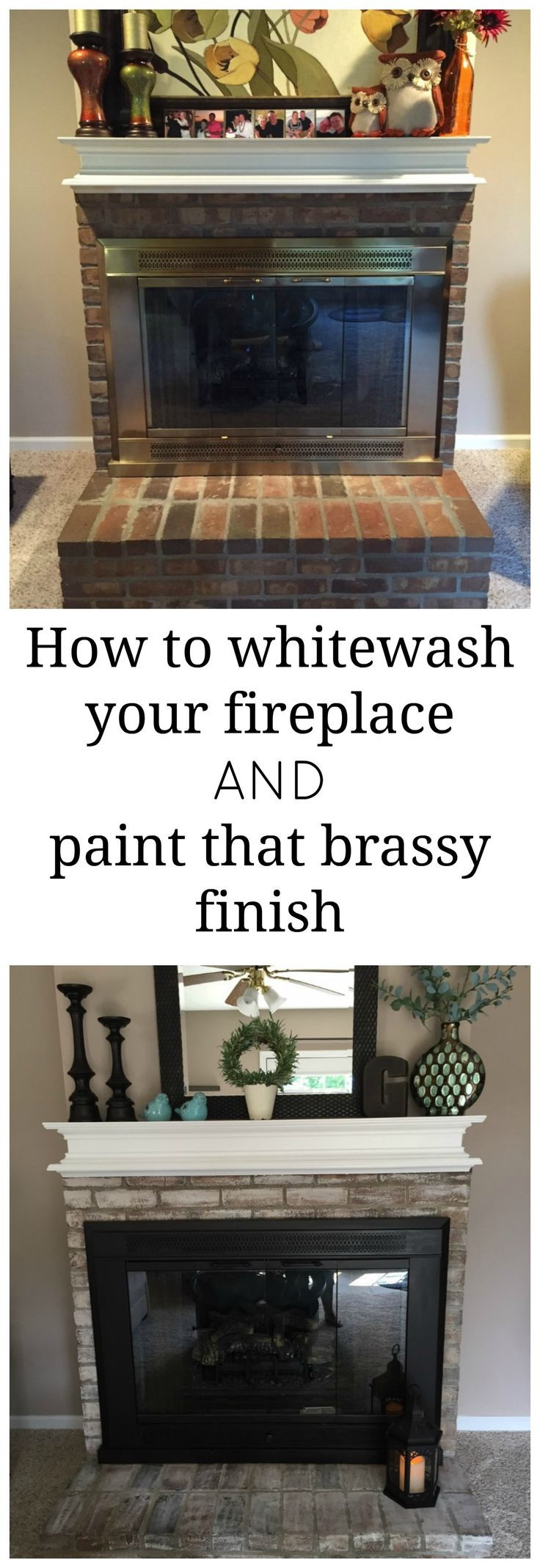 hardwood floor refinishing whitby of 422 best redecorate images on pinterest for the home bathroom and regarding how to whitewash a fireplace and how to paint over that brassy outdated finish