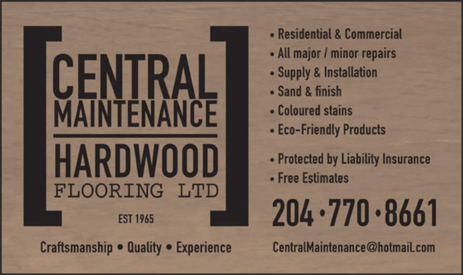 hardwood floor refinishing winnipeg of central maintenance hardwood flooring ltd opening hours box 35 pertaining to central maintenance hardwood flooring ltd opening hours box 35 grp 8 rr 2 dugald mb