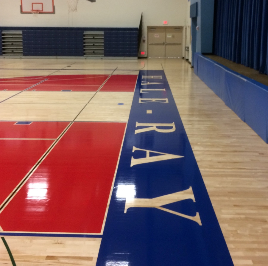 hardwood floor refinishing ypsilanti mi of home nathan hale ray middle school regarding scroll1 refinished gym floor