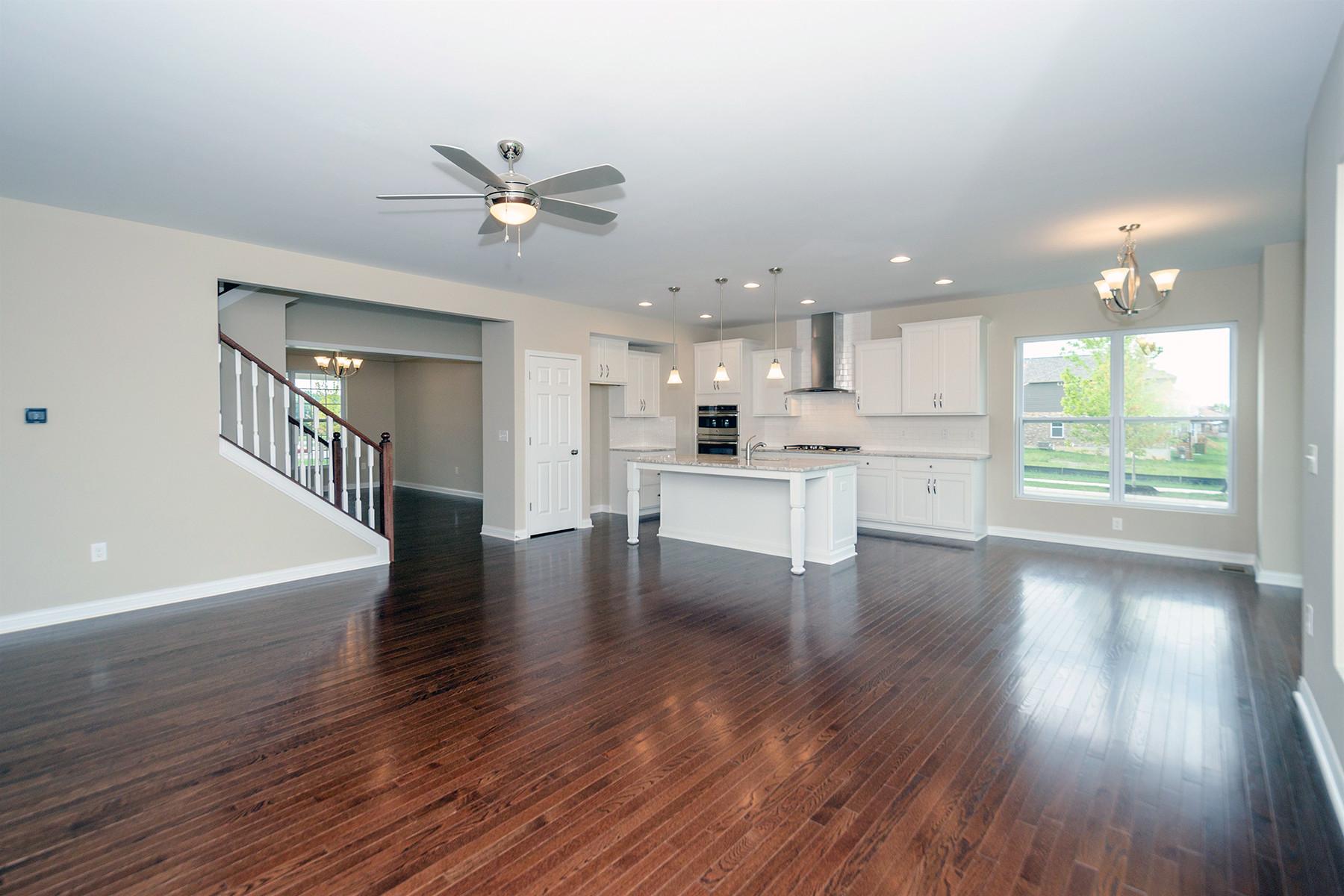hardwood floor repair cincinnati of 3776 silver queen court mason oh 45036 m i homes inside great room