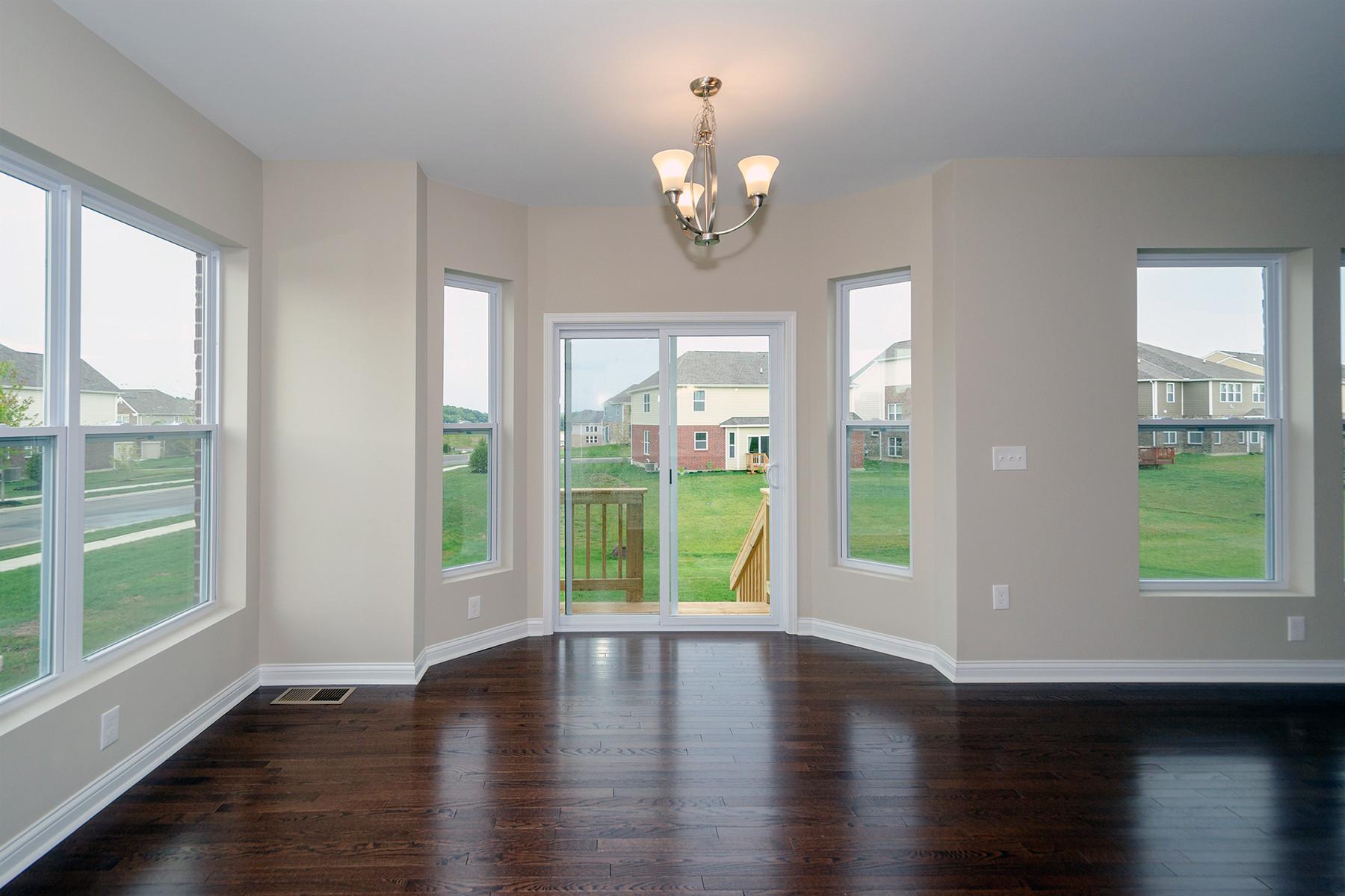 hardwood floor repair cincinnati of 3776 silver queen court mason oh 45036 m i homes with regard to breakfast nook