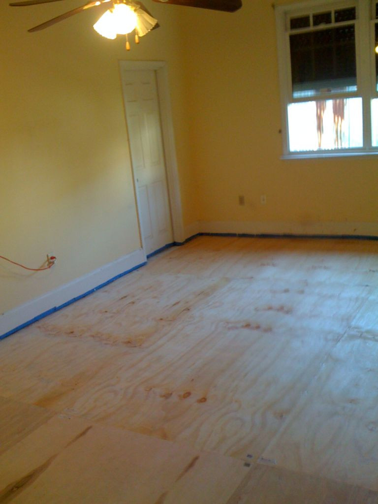hardwood floor repair new orleans of diy plywood floors 9 steps with pictures inside picture of install the plywood floor