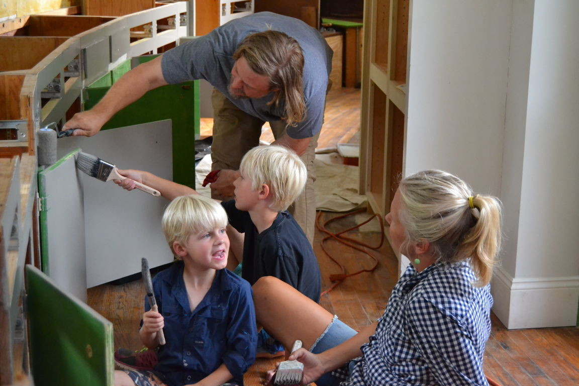 hardwood floor repair richmond va of mount airy plantation gets a reality show makeover on hgtv home inside american rehab virginia the emery family dismantles kitchen cabinets