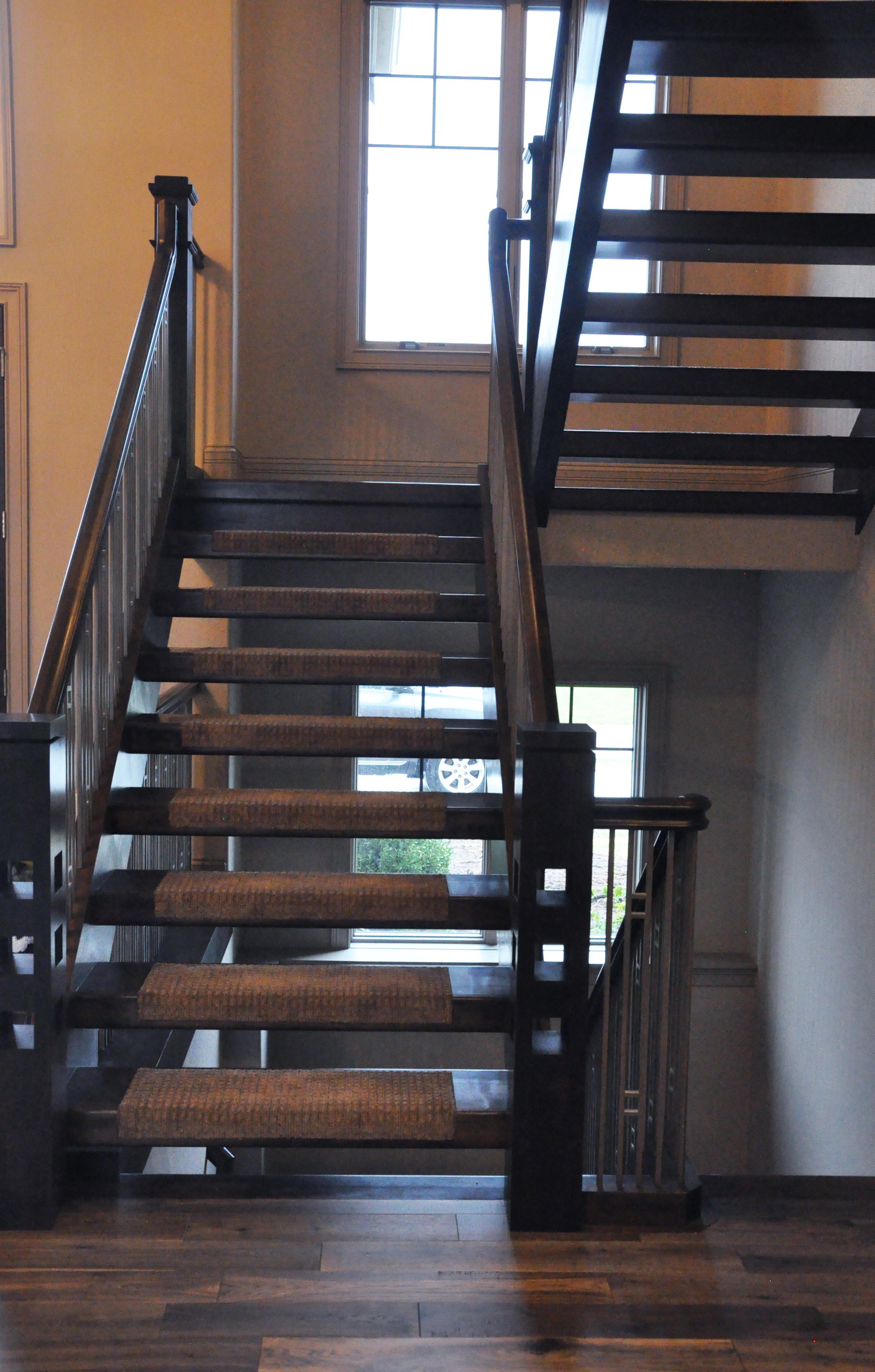 hardwood floor restoration milwaukee of hardwood stair treads staircasing installation milwaukee wi with click image to enlarge
