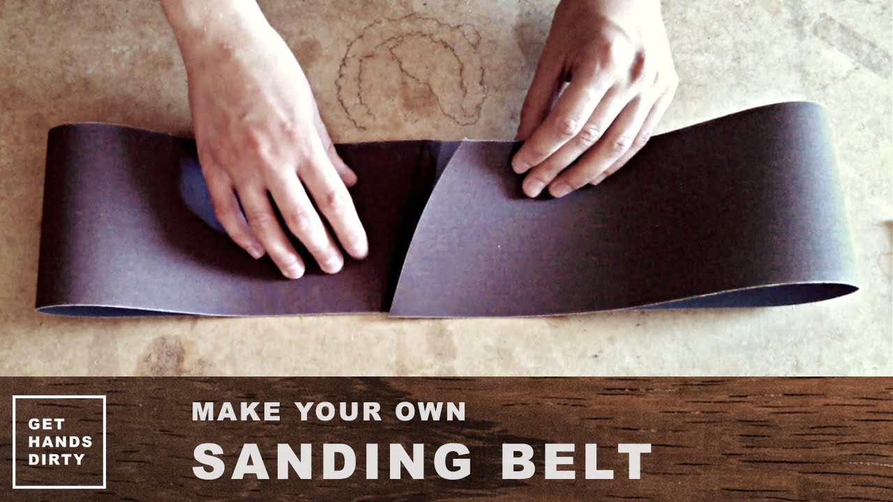 hardwood floor sanding equipment of make your own sanding belt youtube throughout maxresdefault