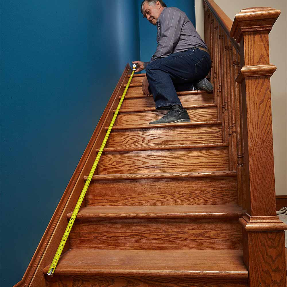 Hardwood Floor Stair Kits Of Install A Sturdy Code Compliant Handrail that Will Last forever Throughout Measure From the Bottom Stair Nose to the top Stair Nose