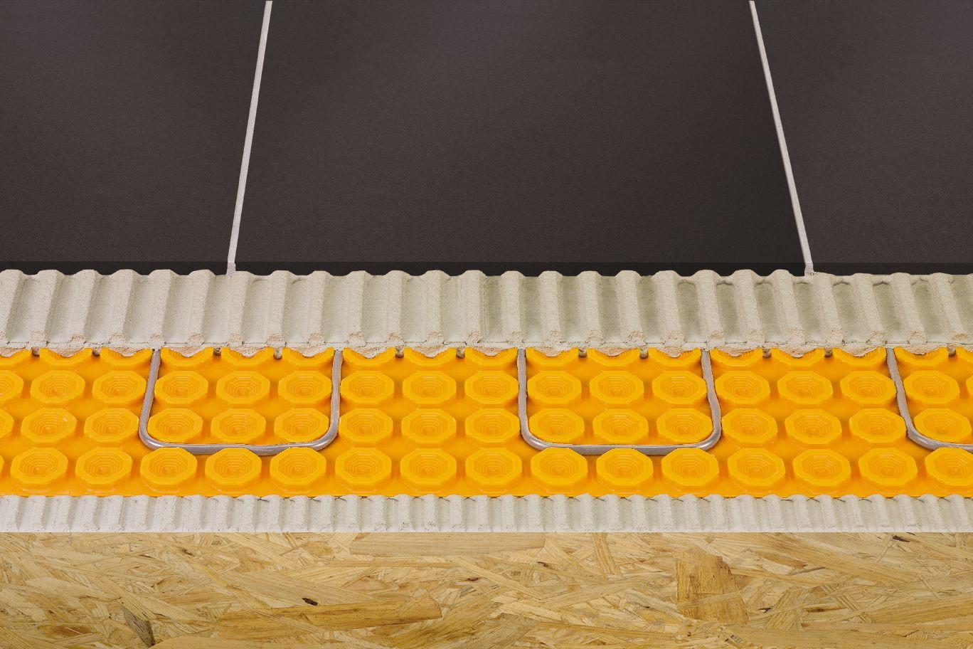 hardwood floor stairs installation video of schlutera ditra heat floor warming schluter ca throughout schlutera ditra heat