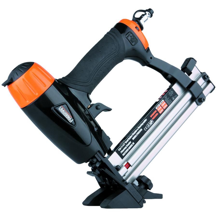 hardwood floor stapler lowes of shop freeman 1 5 in 18 gauge flooring nail gun at lowes com regarding freeman 1 5 in 18 gauge flooring nail gun