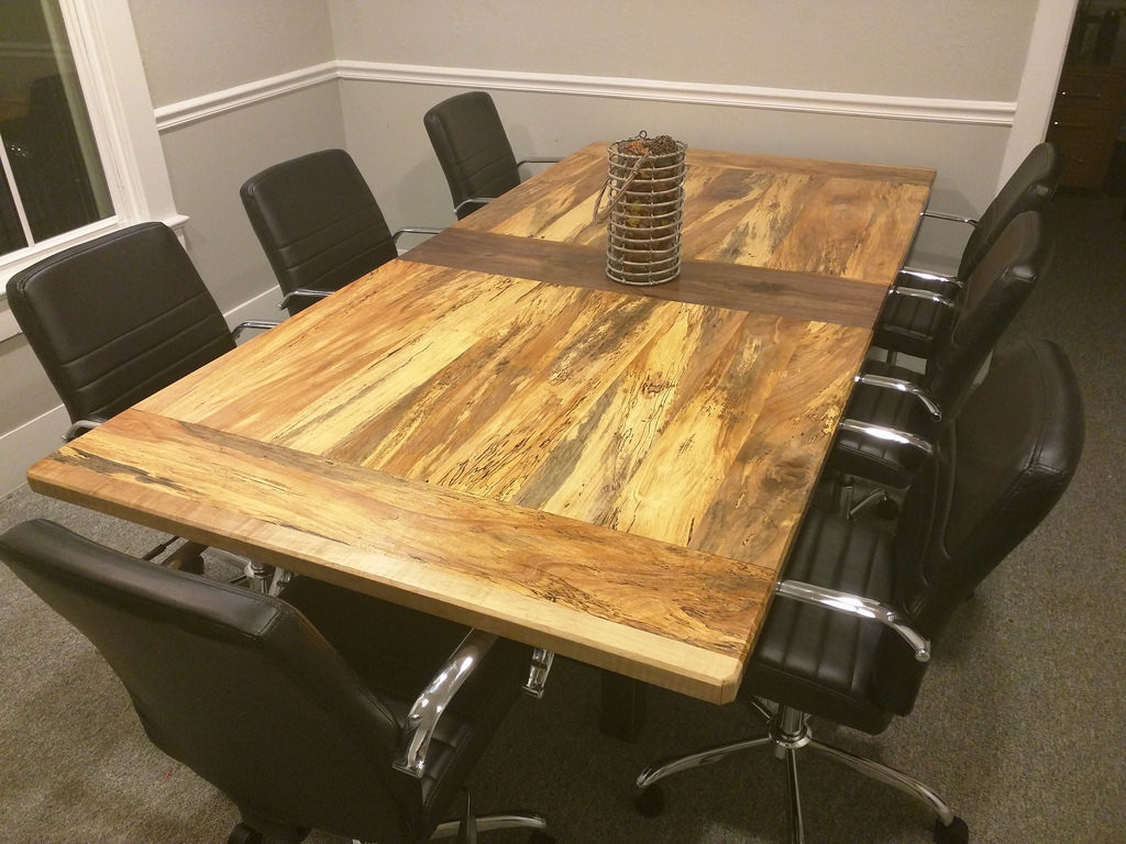 hardwood floor transition between uneven rooms of conference table build done ars technica openforum throughout edit here is the end result more pictures later in the thread