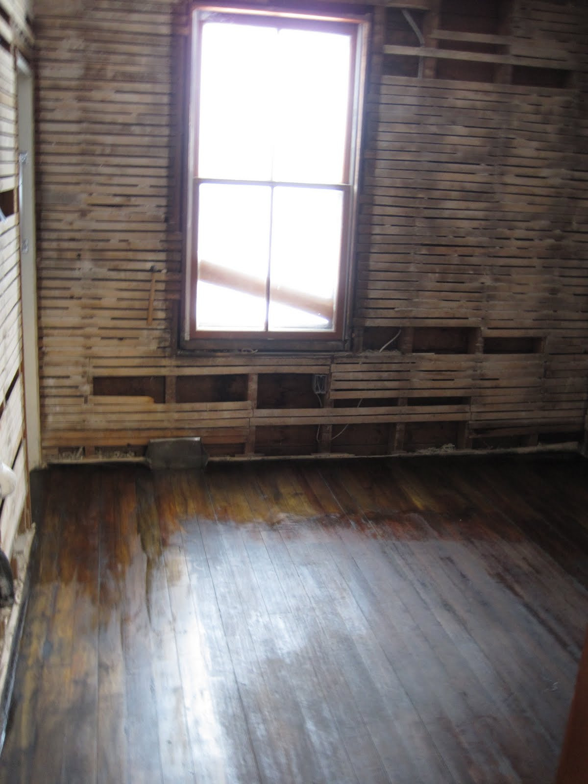 hardwood floor transition between uneven rooms of homemade floor wax paradise city homestead within for those curious here is what my floor looked like before and after a stain wax coat