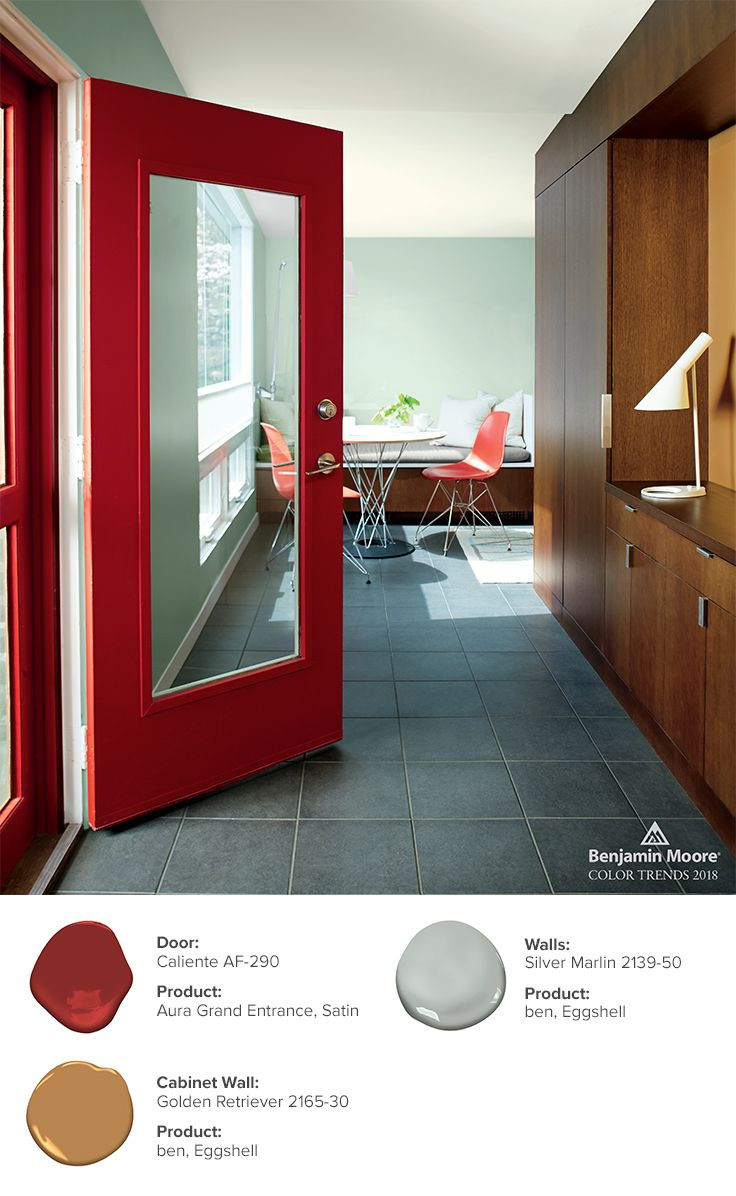 hardwood floor trends 2019 of color trends color of the year 2019 metropolitan af 690 color throughout the drama of red is heightened further when used on a contemporary door