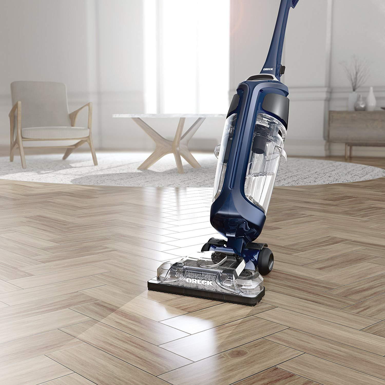 hardwood floor vacuum reviews of amazon com oreck surface scrub hard floor cleaner corded home regarding amazon com oreck surface scrub hard floor cleaner corded home kitchen