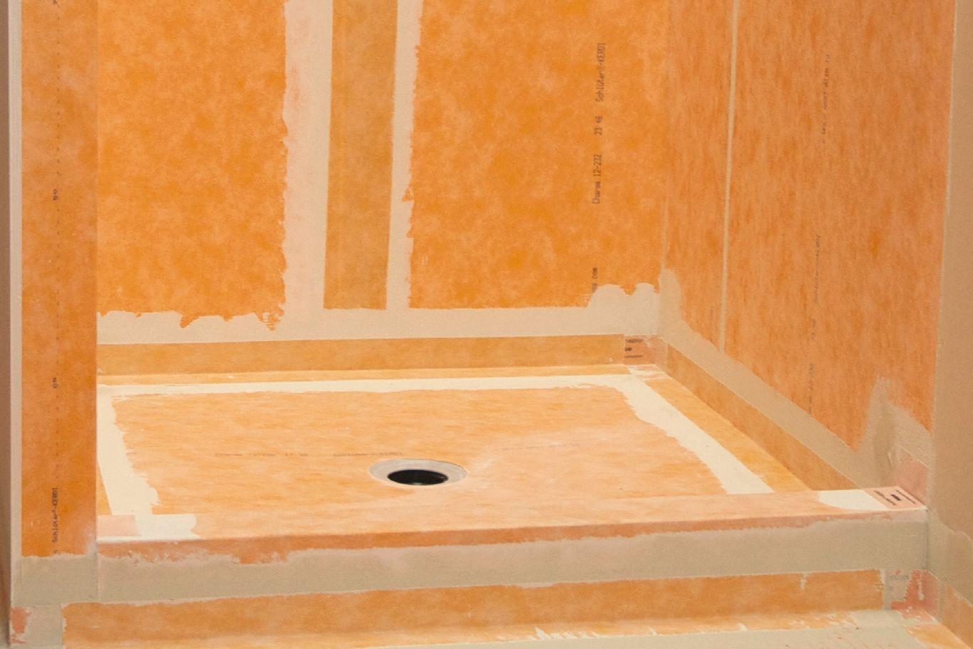 hardwood floor vapor barrier of schlutera kerdi waterproofing kerdi membranes schluter com regarding schlutera kerdi