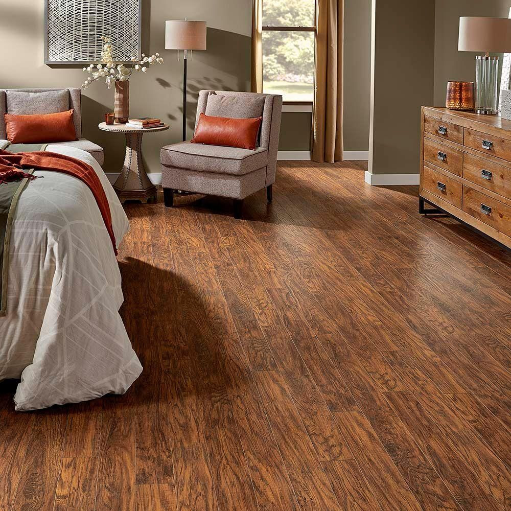 hardwood floor wax home depot of pergo xp highland hickory 10 mm thick x 4 7 8 in wide x 47 7 8 in regarding pergo xp highland hickory 10 mm thick x 4 7 8 in wide x 47 7 8 in length laminate flooring 13 1 sq ft case lf000317 the home depot