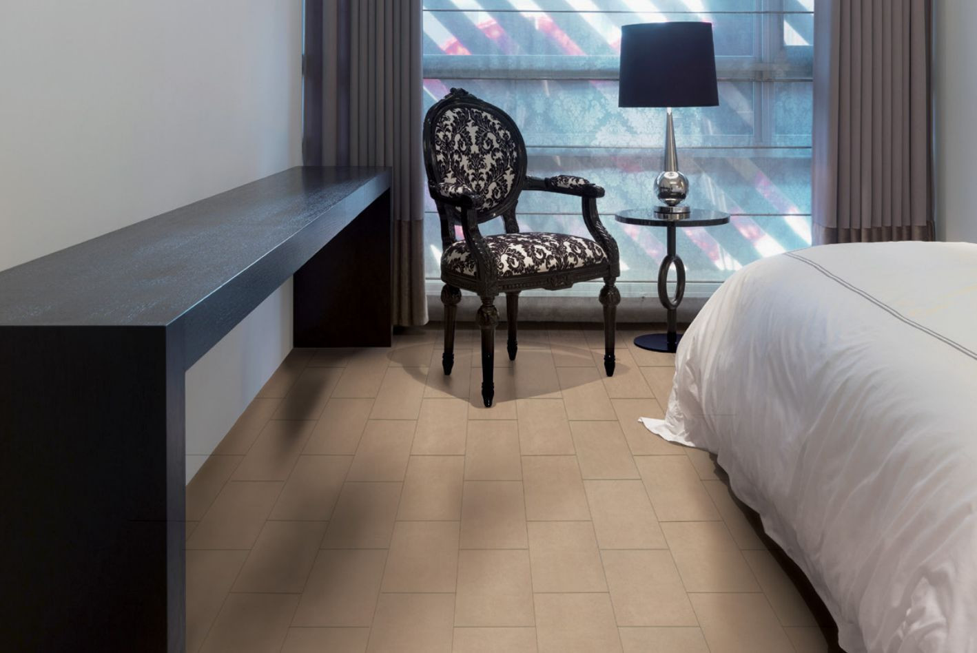 hardwood floor with tile border of tile solutions for great bedroom floors pertaining to 12 x 24 infinite brown bedroom tile 56a4a0e65f9b58b7d0d7e4f6 jpg