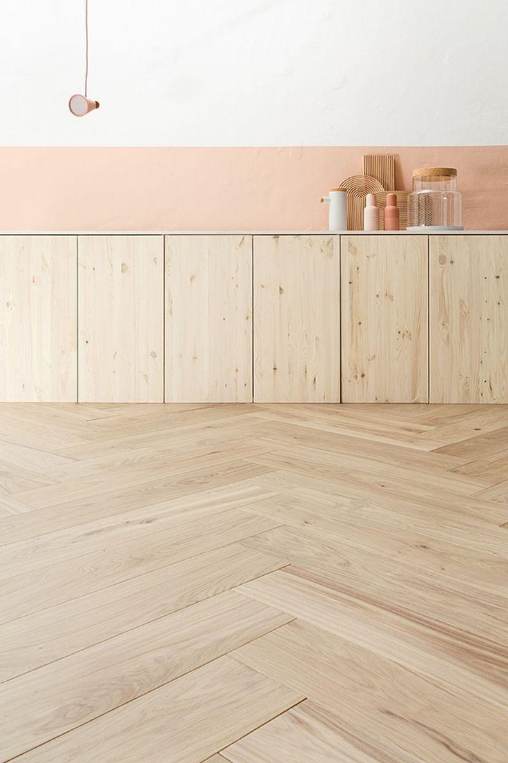 hardwood flooring adelaide of 163 best cooking space images on pinterest interior design kitchen with regard to 16 inspirational examples of herringbone floors