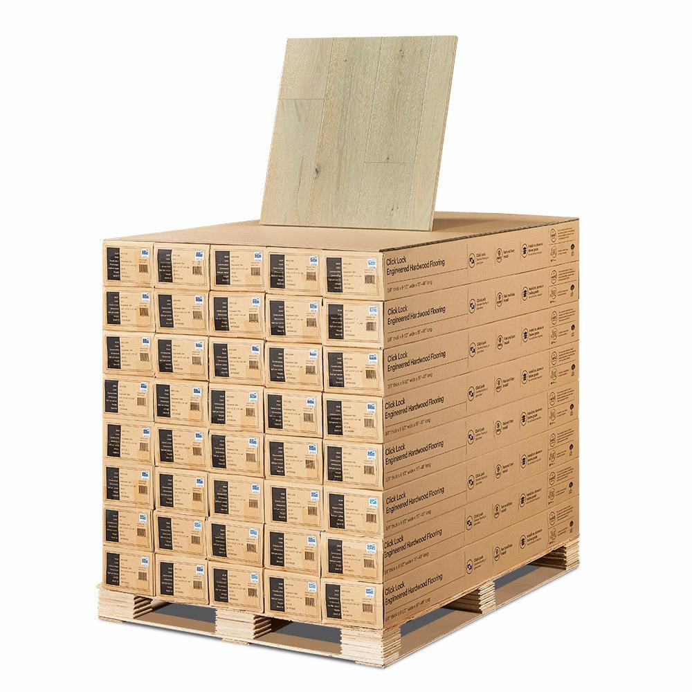 Hardwood Flooring Adhesive Glue Of Malibu Wide Plank French Oak Salt Creek 3 8 In T X 6 1 2 In W X for Malibu Wide Plank French Oak Salt Creek 3 8 In T X 6