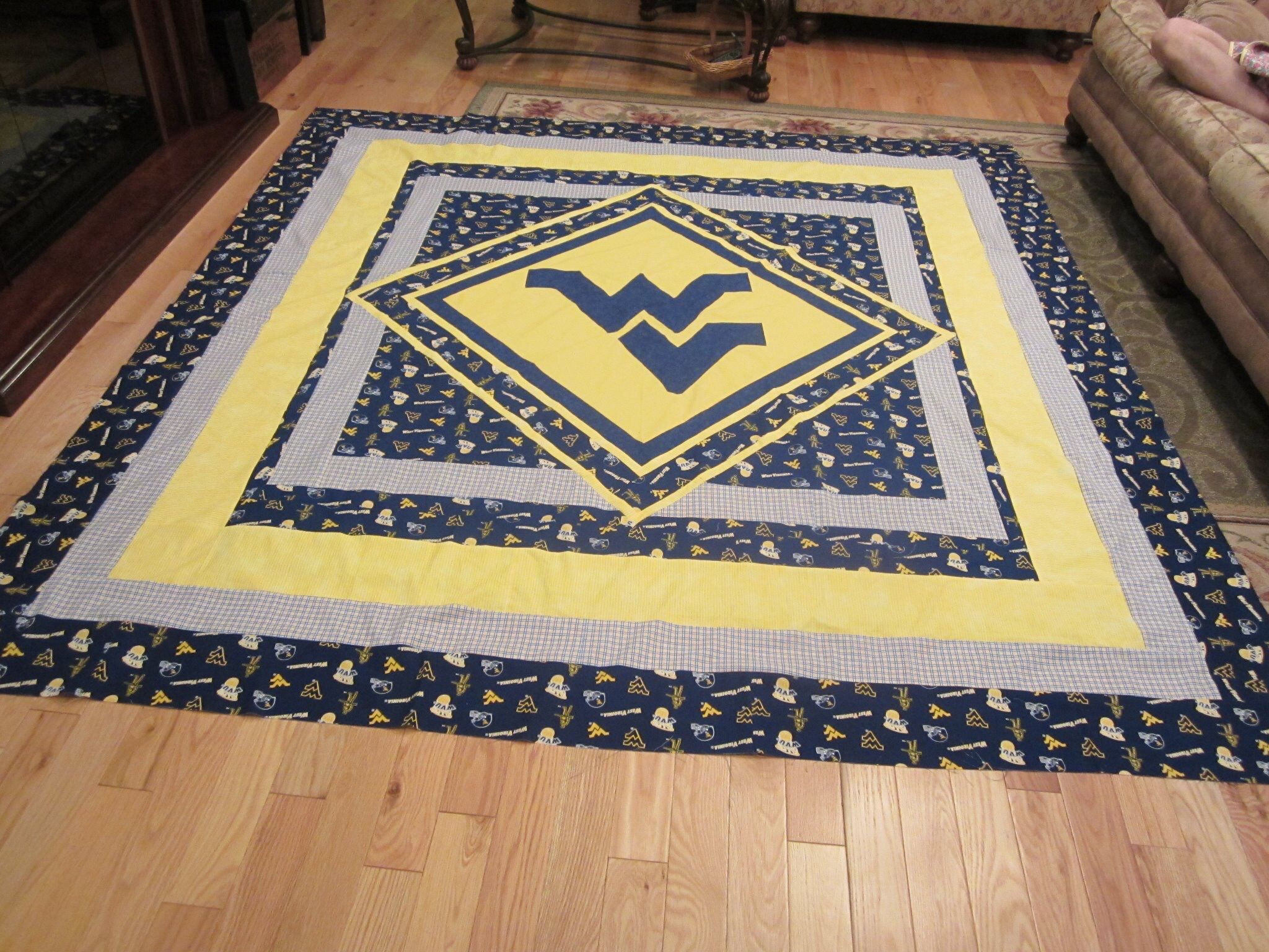 hardwood flooring auction calgary of snuggle up in a wvu quilt wvu mountaineers letsgomountaineers regarding snuggle up in a wvu quilt wvu mountaineers letsgomountaineers westvirginia westvirginiauniversity morgantown