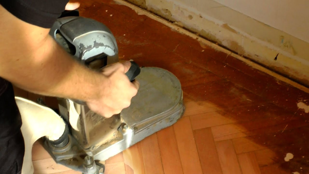 hardwood flooring below grade of how to use an edge floor sander youtube with regard to maxresdefault
