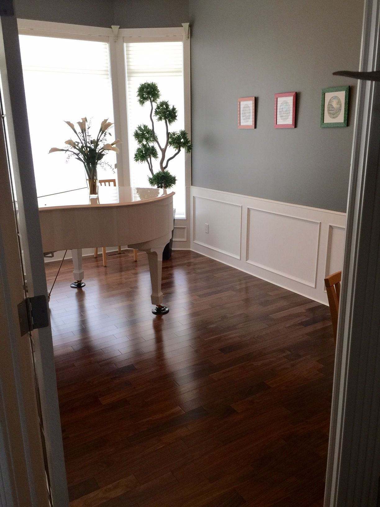 hardwood flooring calgary cost of natural ambiance black walnut exclusive lauzon hardwood in take a look at our beautiful engineered 3 1 4 exclusive black walnut hardwood flooring in this music room a beautiful dark brown hardwood flooring