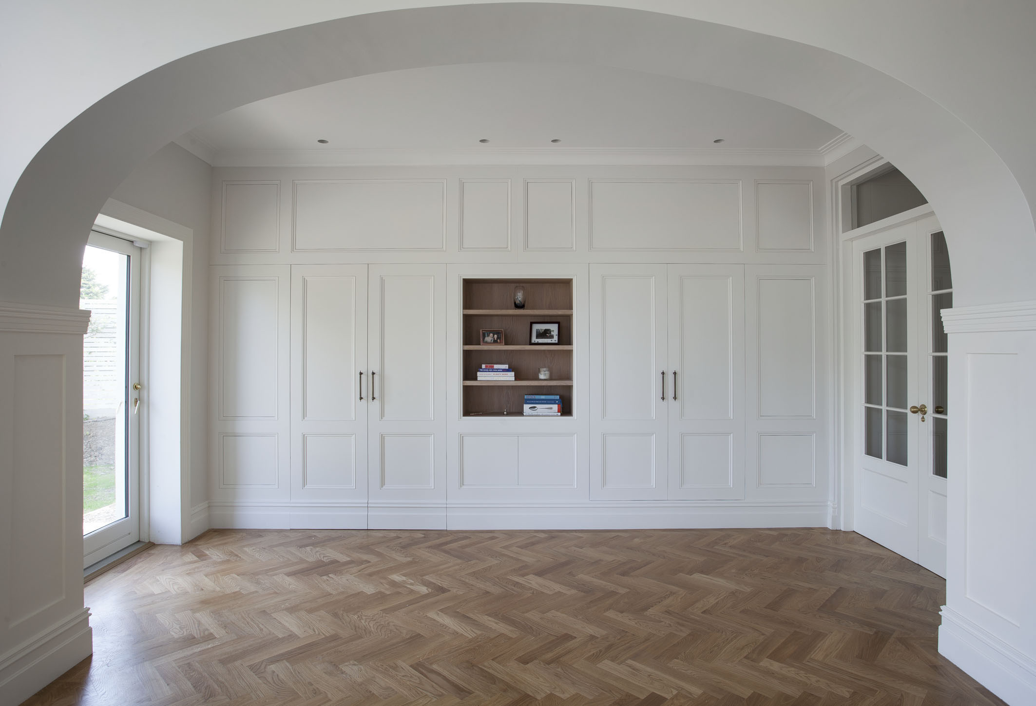 hardwood flooring company dublin of islington handcrafted kitchen collection woodale ireland regarding solid wood handpainted kitchen with bespoke pantry detail by woodale