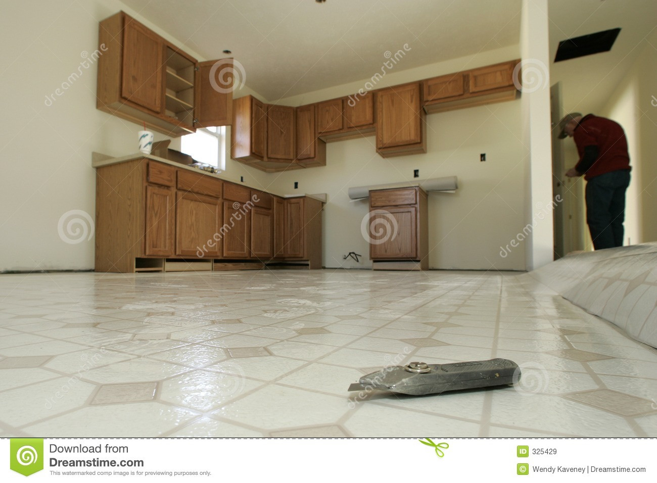 Hardwood Flooring Contractors Near Me Of Home Depot Vinyl Flooring Houses Flooring Picture Ideas Galley within Kitchen Floor Installation Royalty Free Stock Images
