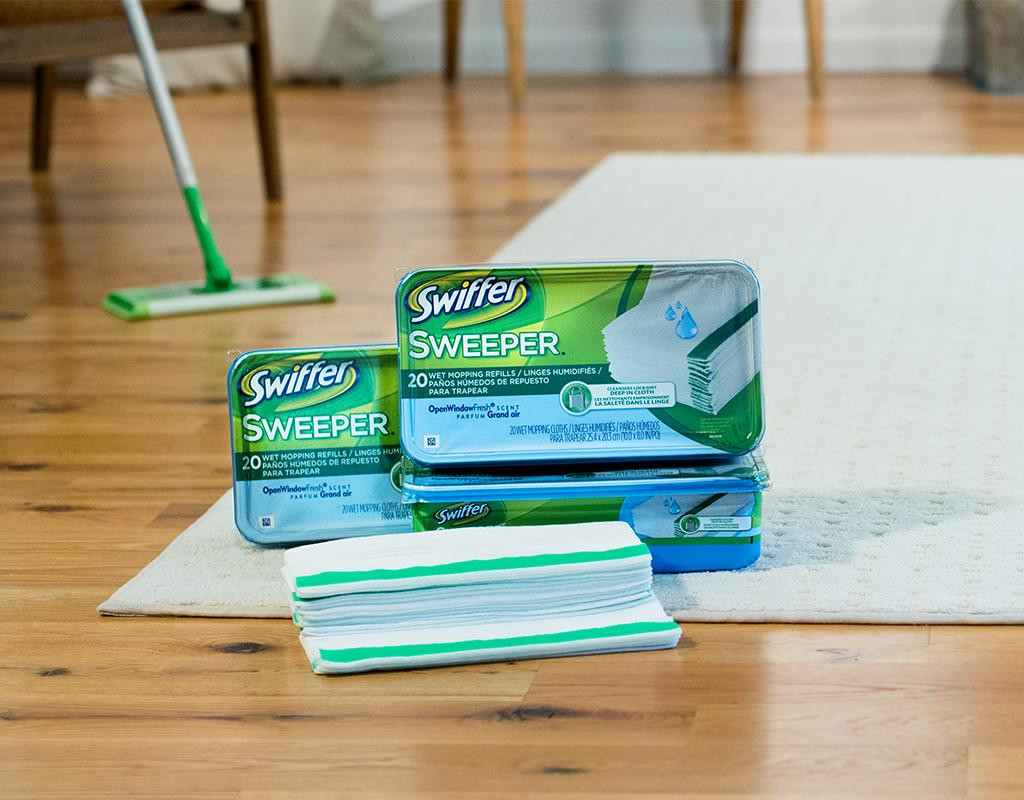 Hardwood Flooring Ct wholesale Of Swiffer Sweeper Wet Mopping Cloths 64 Count Open Window Fresh Boxed Throughout 1467670788669