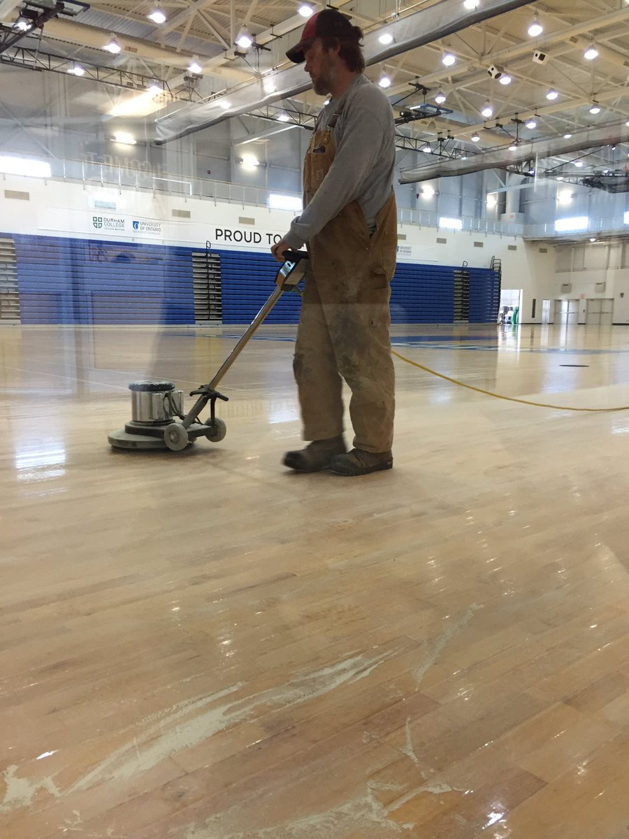 hardwood flooring durham region of uoit ridgebacks on twitter the gym floor at the crwc is looking a regarding uoit ridgebacks on twitter the gym floor at the crwc is looking a little different today summermakeover