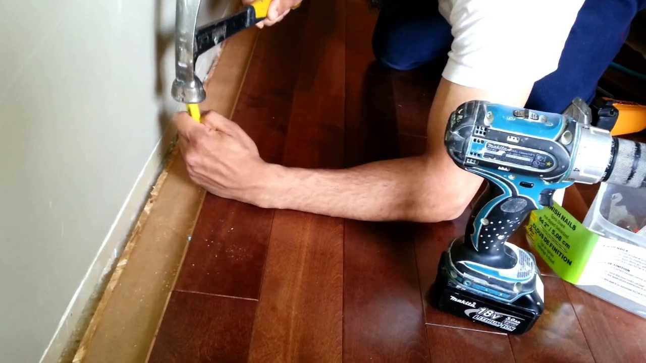 Hardwood Flooring Fairfield Nj Of A Quick Tip On Installing Hardwood Flooring when You Get Close to Intended for A Quick Tip On Installing Hardwood Flooring when You Get Close to the Wall