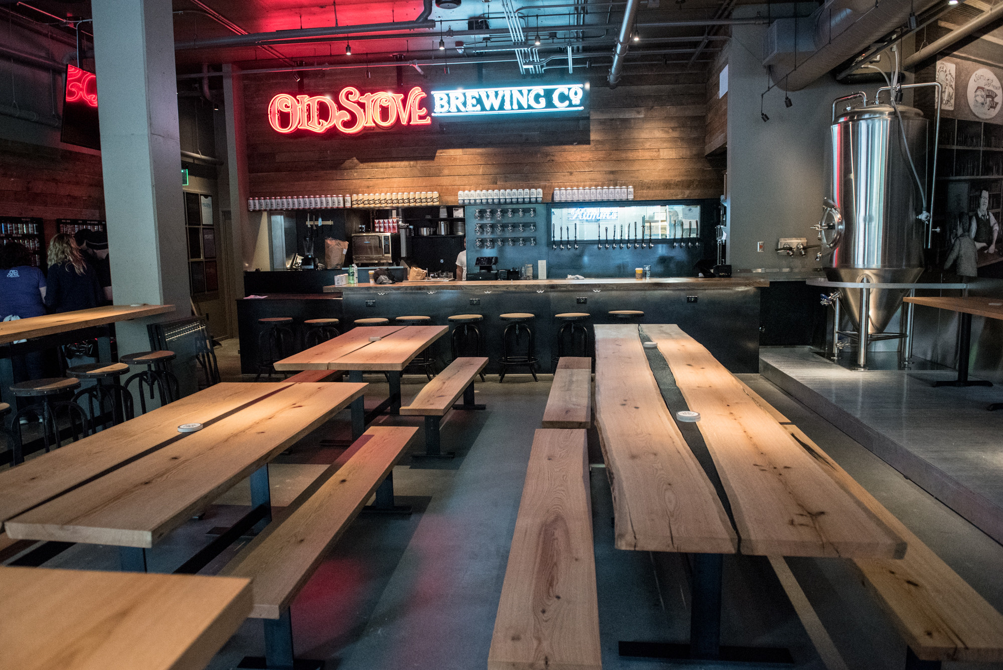 hardwood flooring georgetown ontario of tour inside old stove brewing now open in pike place market eater within tour inside old stove brewing now open in pike place market