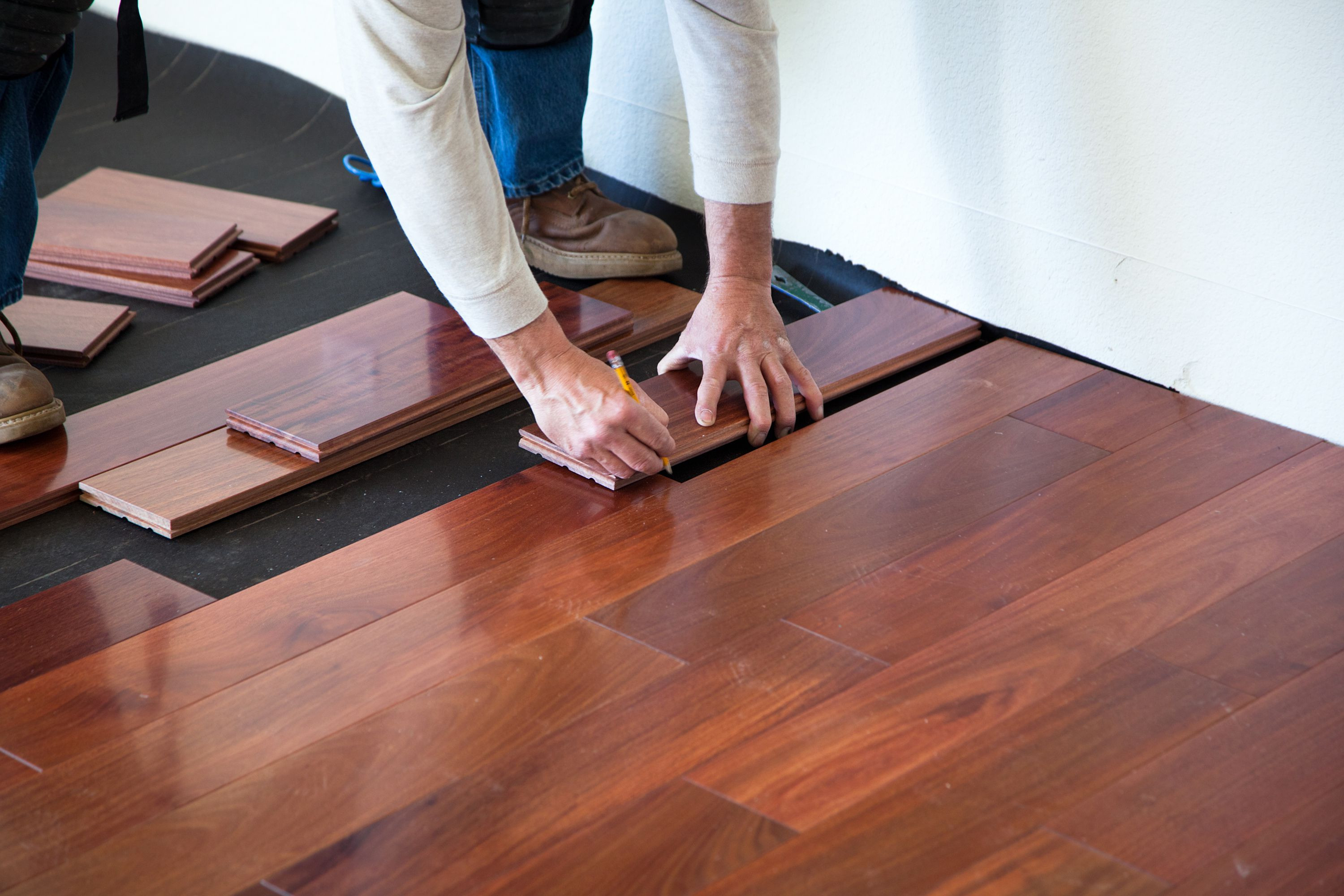 hardwood flooring glued to concrete of the subfloor is the foundation of a good floor in installing hardwood floor 170040982 582b748c5f9b58d5b17d0c58