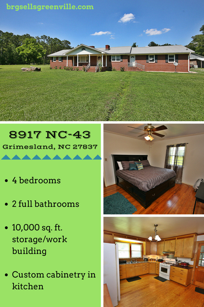 hardwood flooring greenville nc of 8917 nc 43 grimesland nc 27837 pinterest car garage and building for for sale 8917 nc 43 grimesland nc 27837 4 bedroom home with double car garage and 10000 sq ft building 1 5 acres in chicod elementary district