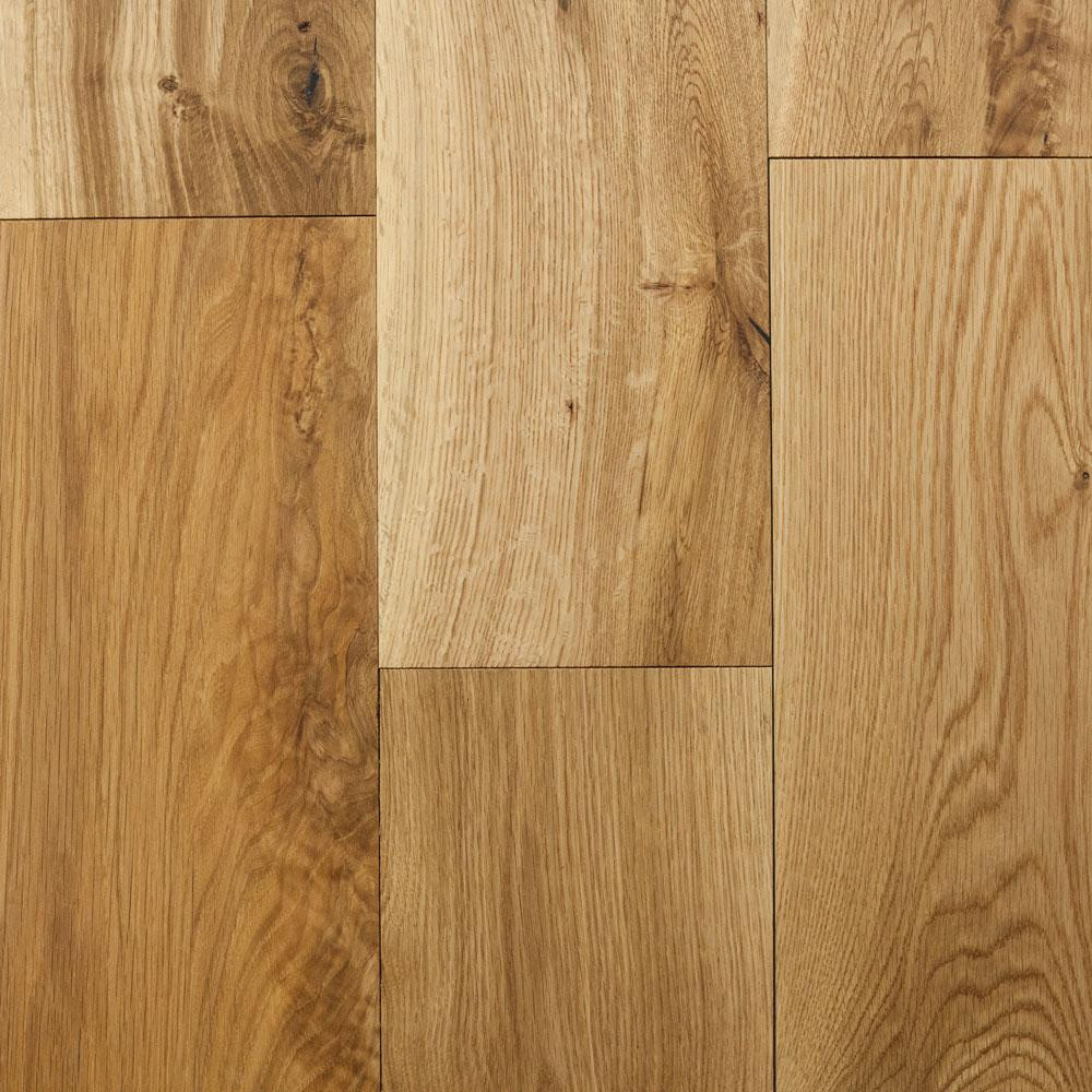 Hardwood Flooring Hickory Nc Of Red Oak solid Hardwood Hardwood Flooring the Home Depot within Castlebury Natural Eurosawn White Oak 3 4 In T X 5 In