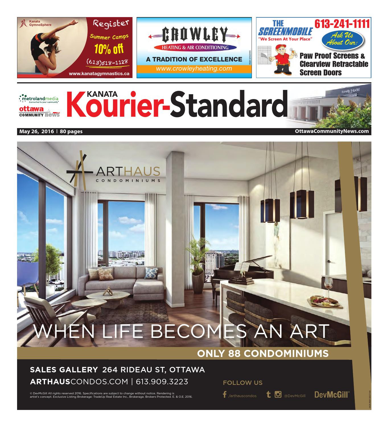 Hardwood Flooring Ingersoll Ontario Of Kanata052616 by Metroland East Kanata Kourier issuu Throughout Page 1
