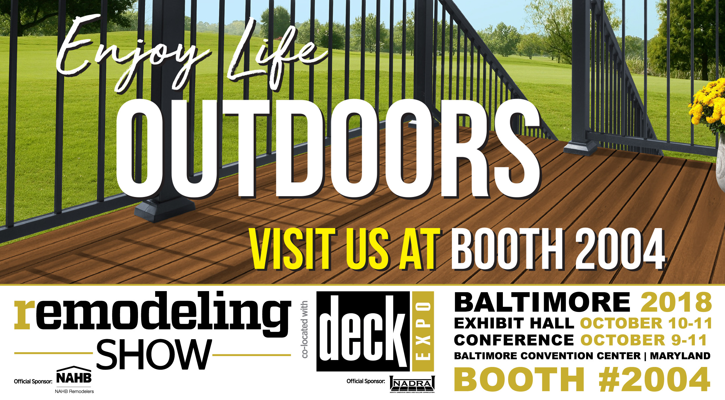 hardwood flooring installation checklist of remodeling show deck expo 2018 october 10 11 green bay decking throughout view larger image