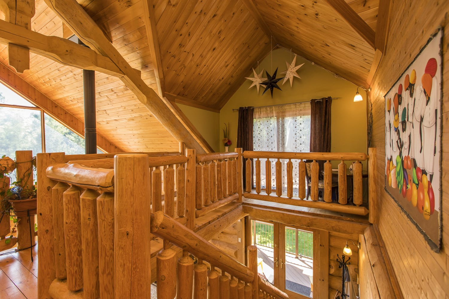 hardwood flooring kanata of 107 corkery woods drive west ottawa real estate with regard to floor heating are some of the features of this home solid scandinavian scribed logpine and stone exterior metal roof quality wood aluminium clad
