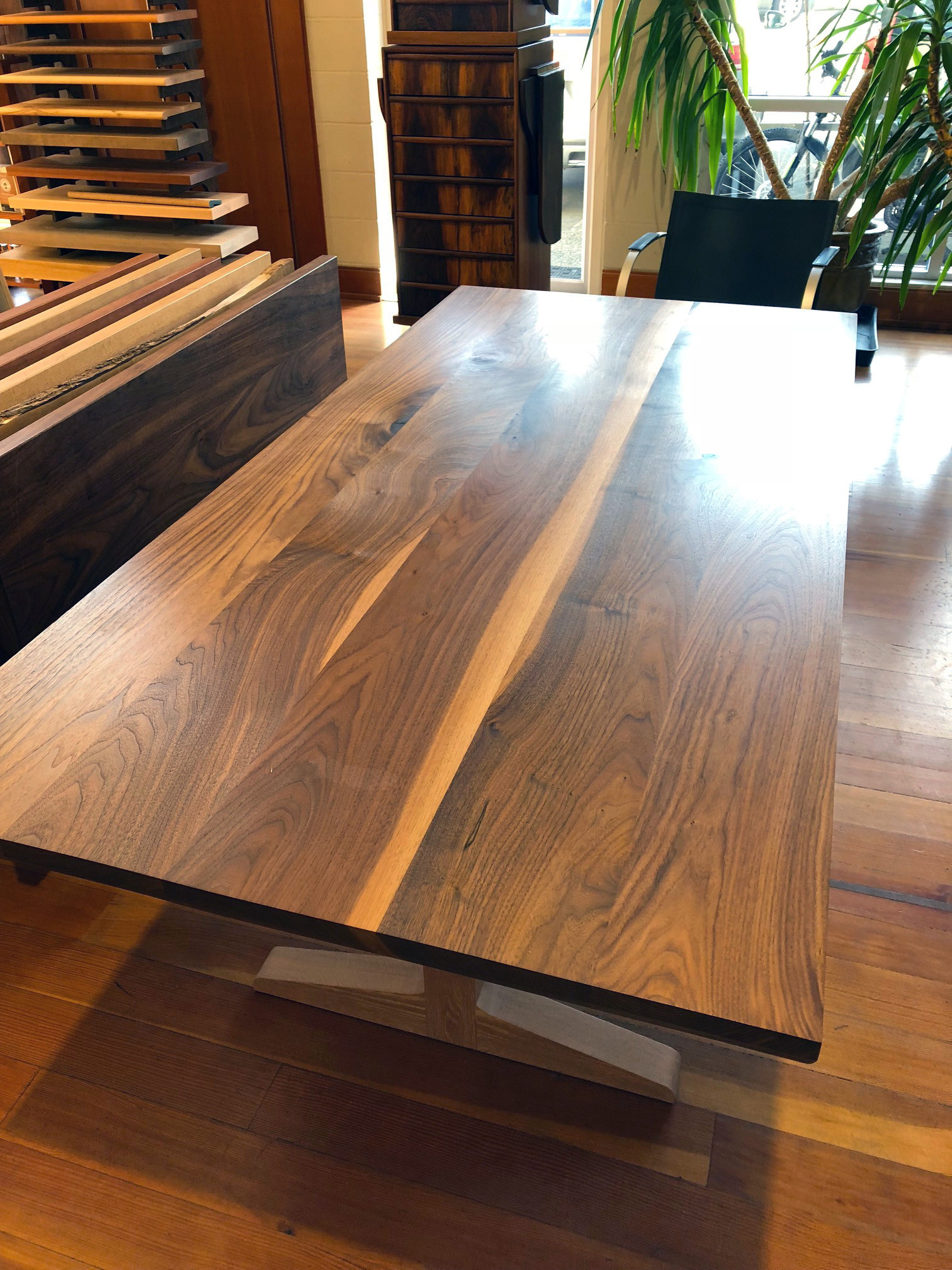 hardwood flooring layered stain samples maple of inspiration west wind hardwood intended for black walnut table