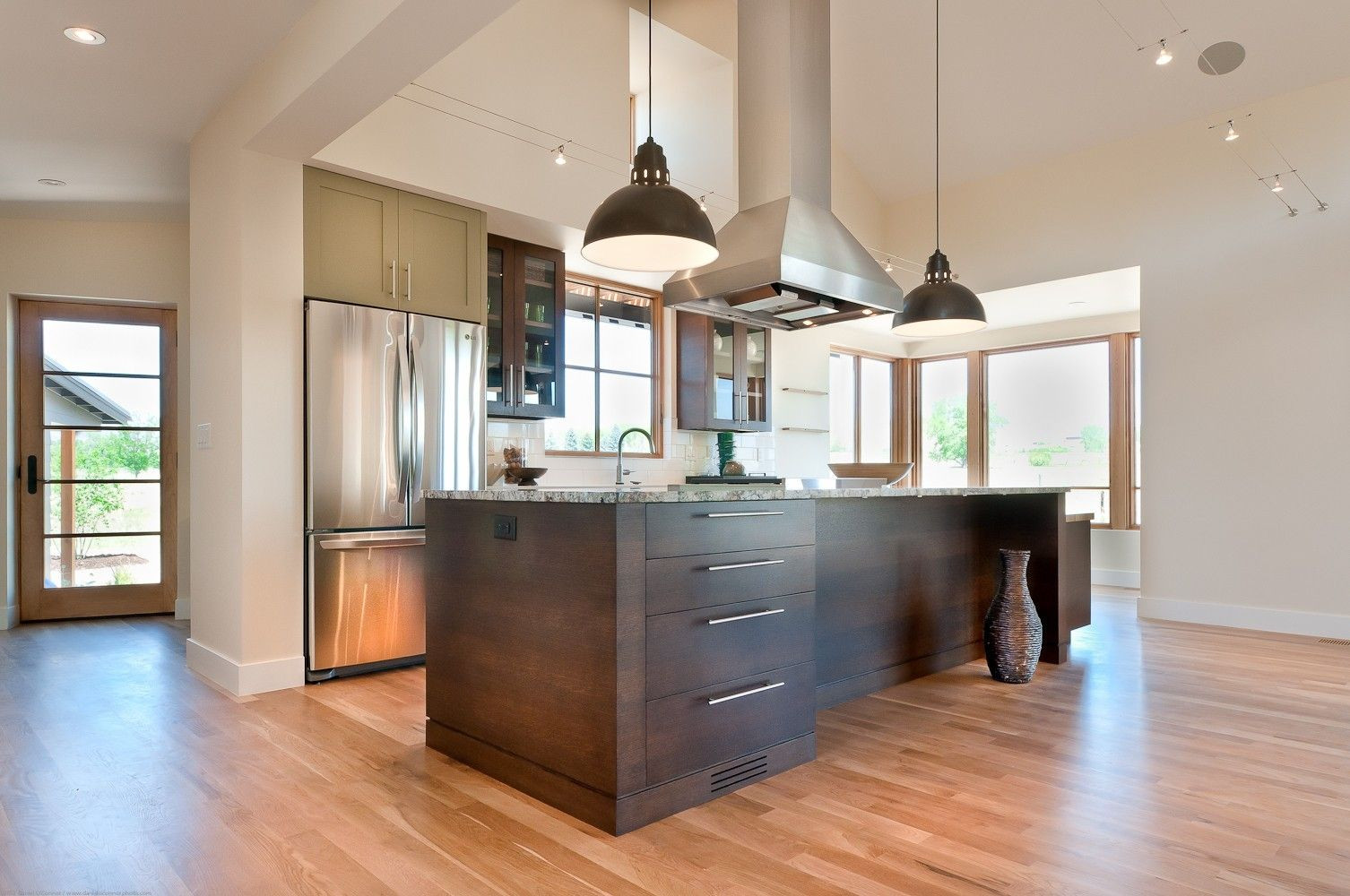 hardwood flooring mallet of pride flooring and home decor blue ridge hardwood flooring hickory inside custom modern farmhouse kitchen by marc hunter woodworking