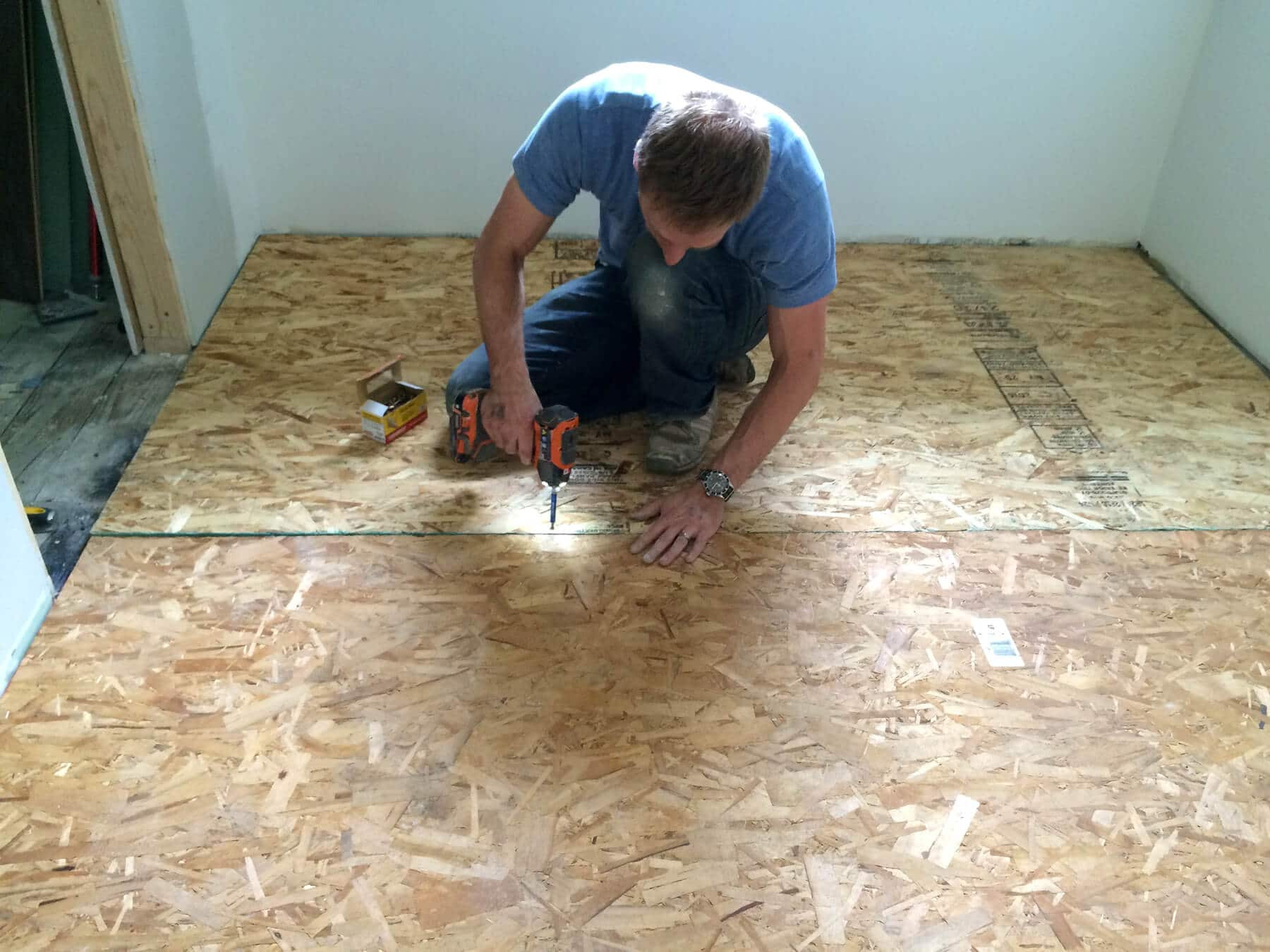 hardwood flooring nailer reviews of the micro dwelling project part 5 flooring the daring gourmet within next it was time to lay down the hardwood flooring