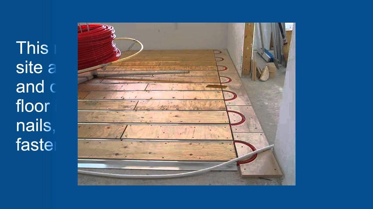 hardwood flooring nails or staples of advantages of thermofin u for radiant heated floors youtube with advantages of thermofin u for radiant heated floors