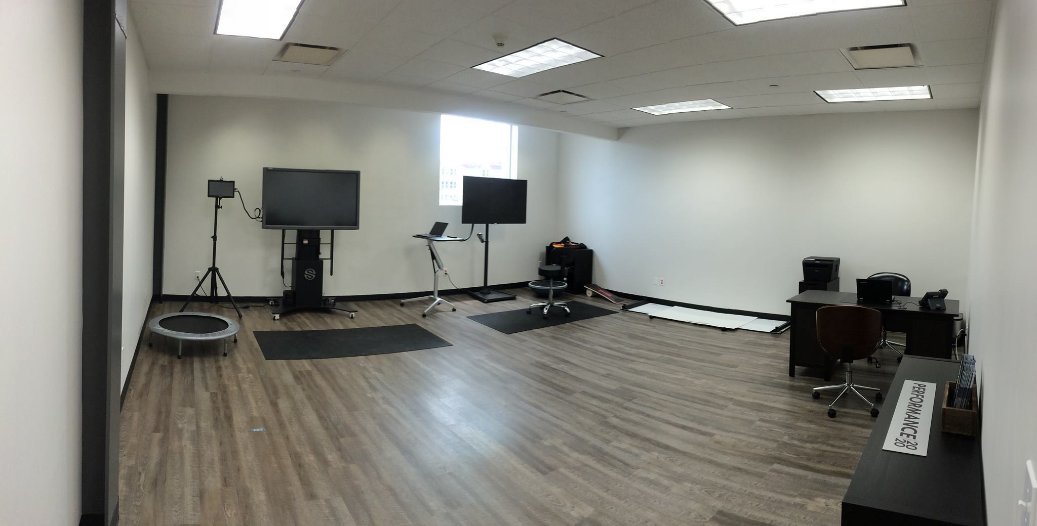 hardwood flooring norwalk ct of 8 tips to add sports and performance vision to your practice page 3 within figure 6 a quiet moment at performance 20 20 before the athletes train keeping a separate space for sports vision training is great but practitioners are