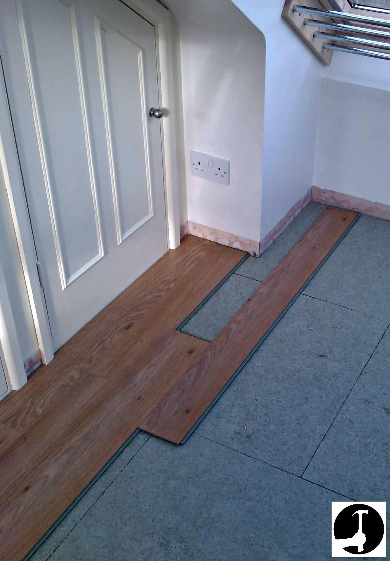 hardwood flooring on concrete floor of how to install laminate flooring with ease glued glue less systems regarding setting out laminate flooring