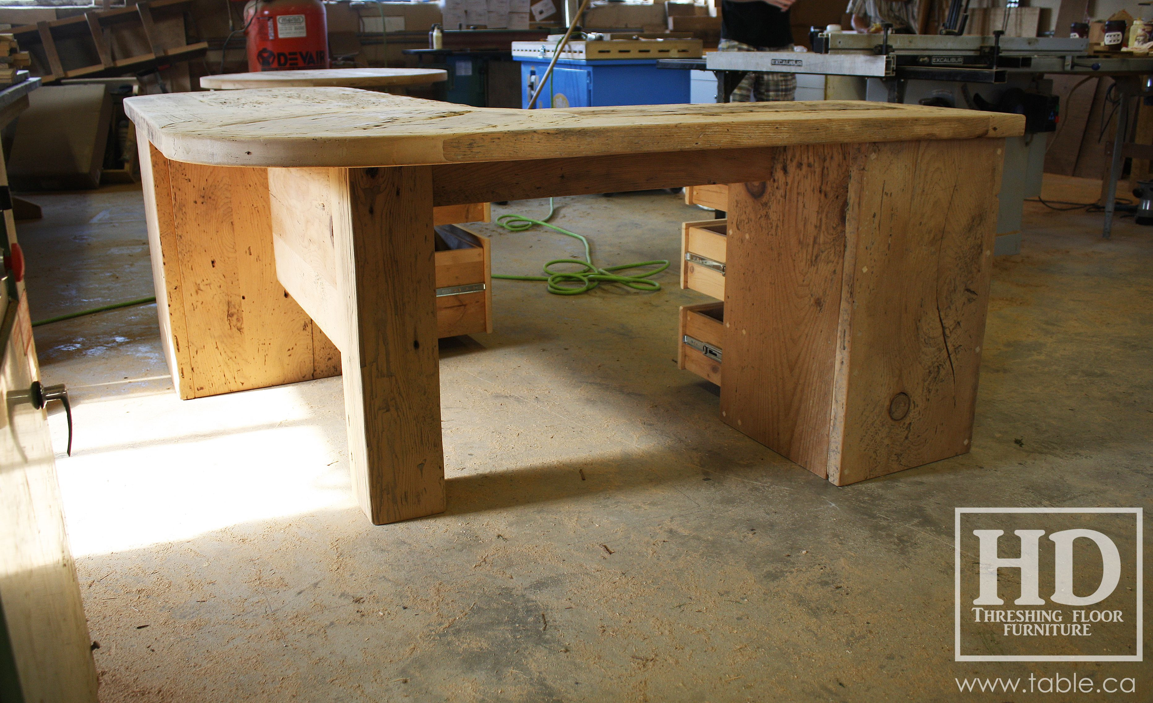 hardwood flooring ontario of reclaimed wood desk by hd threshing floor furniture of cambridge with regard to reclaimed wood desk by hd threshing floor furniture of cambridge ontario see our website
