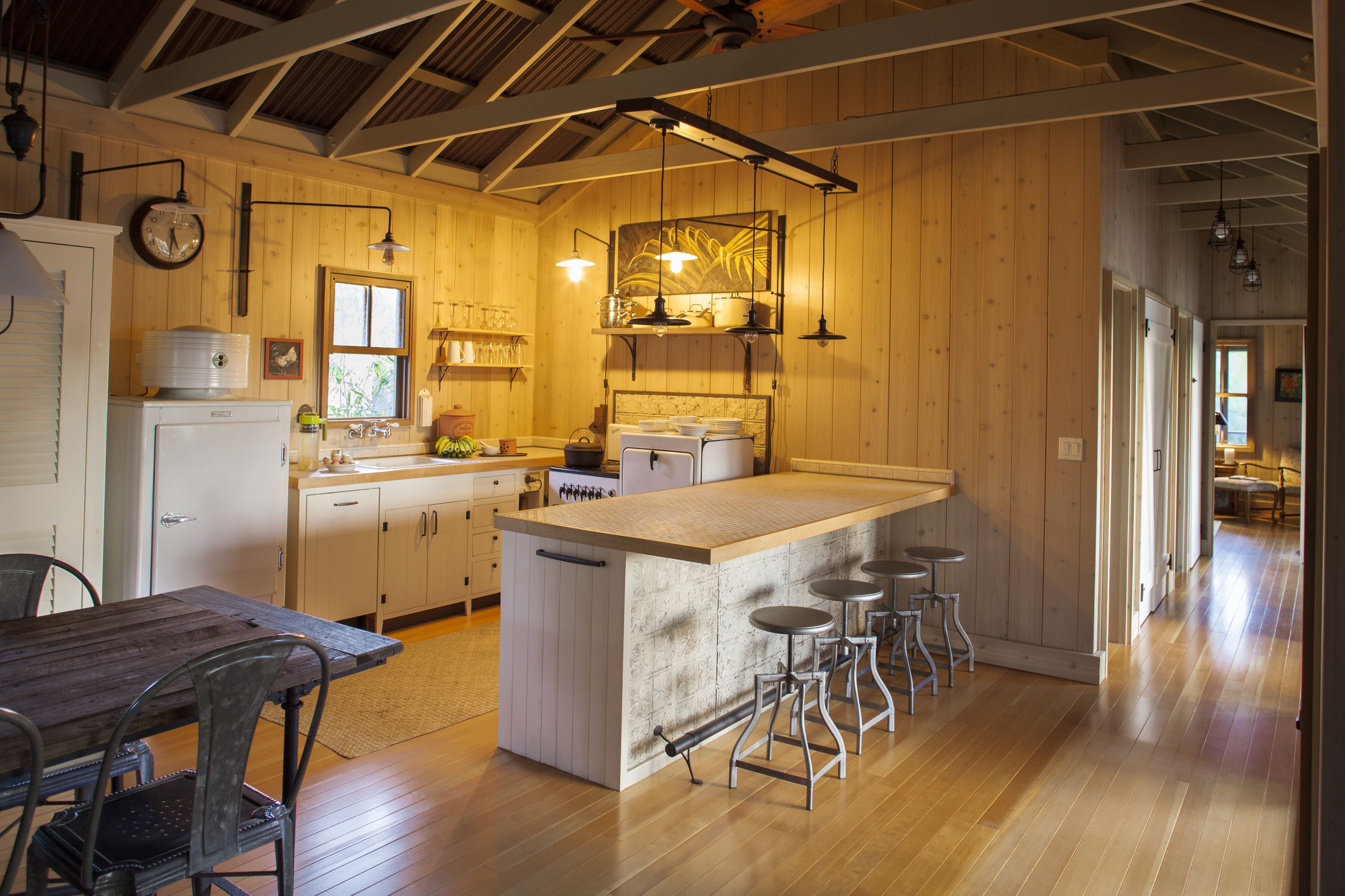 hardwood flooring options pros cons of gorgeous kitchens with wooden flooring inside kitchen wood floor and open beam ceiling 583805041 compassionate eye found 56a4a1663df78cf772835369