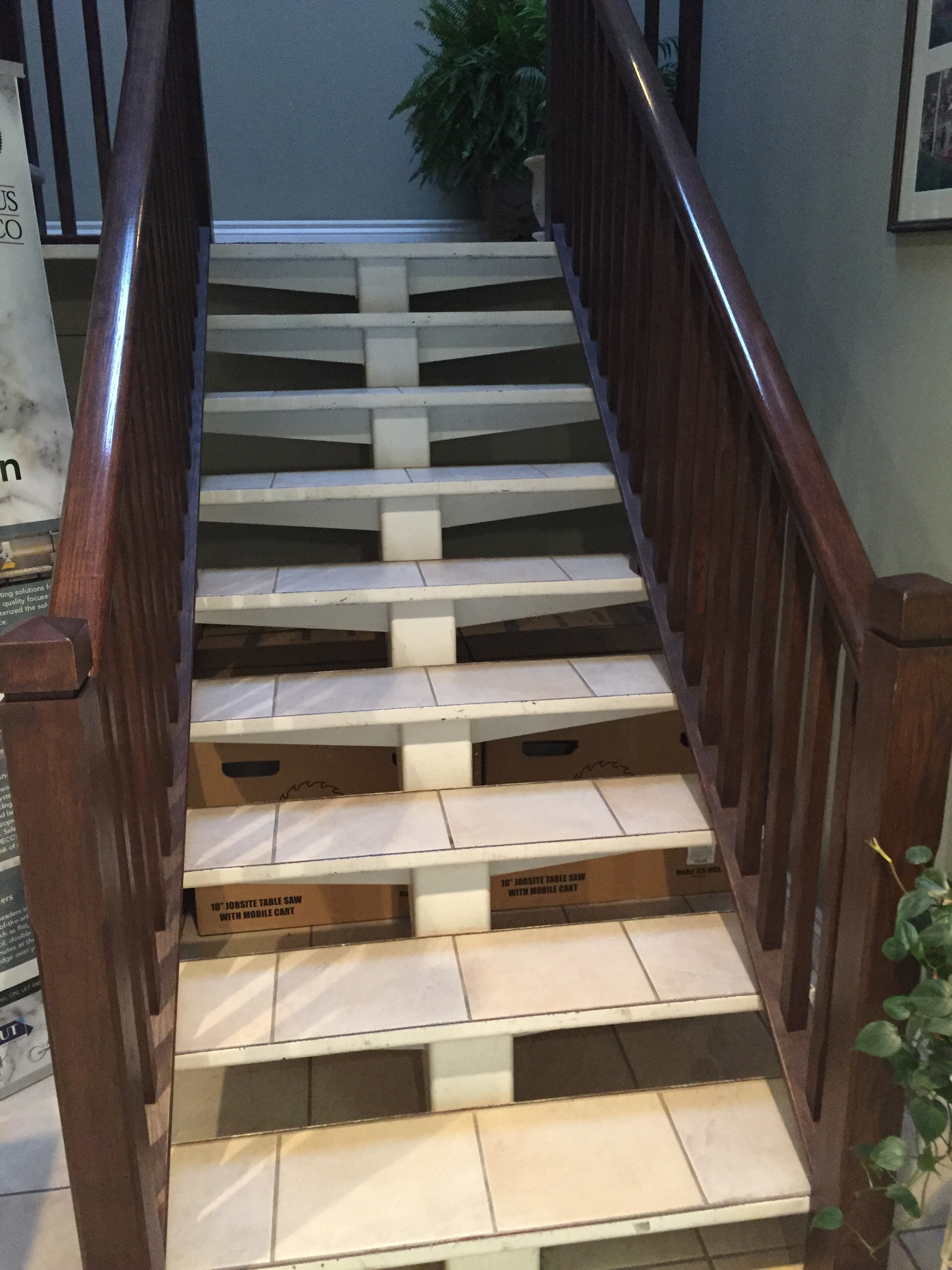 hardwood flooring outlet toronto of new stairs and railing in ellesmere road toronto canada staircase within our gallery
