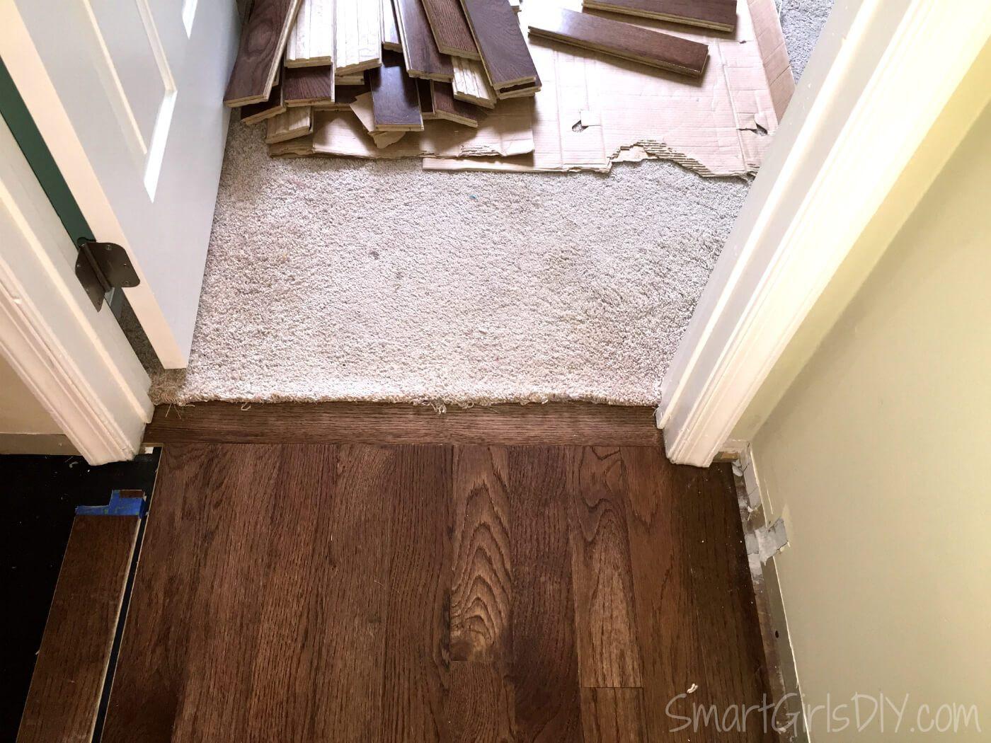 hardwood flooring per square foot of upstairs hallway 1 installing hardwood floors within transition between carpet and hardwood floor