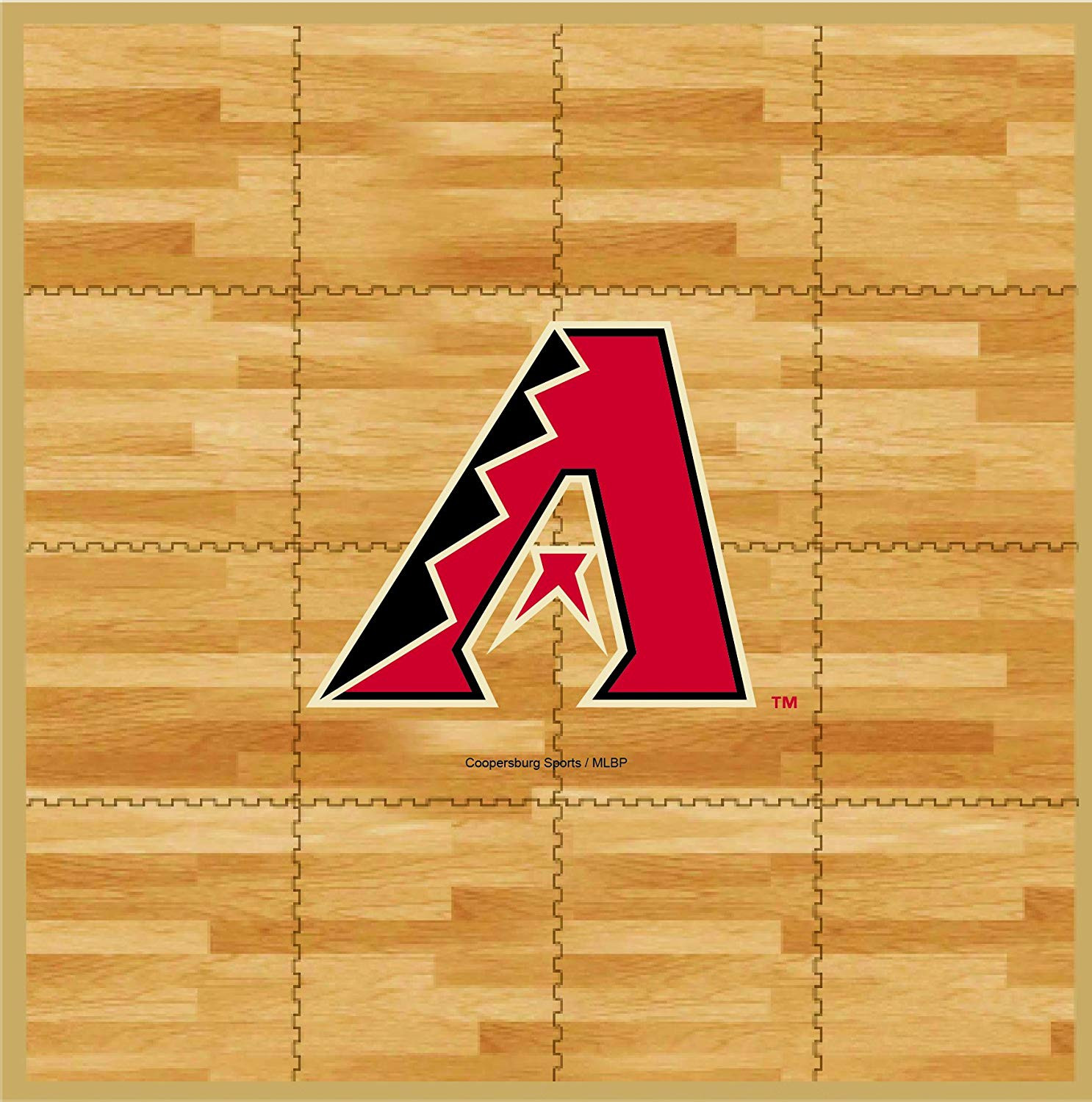Hardwood Flooring Prices toronto Of Amazon Com Coopersburg Mlb Arizona Diamondbacks Mlb 8 Foot by 8 within Amazon Com Coopersburg Mlb Arizona Diamondbacks Mlb 8 Foot by 8 Foot Fan Floor Tan 8 Foot X 8 Foot Sports Outdoors
