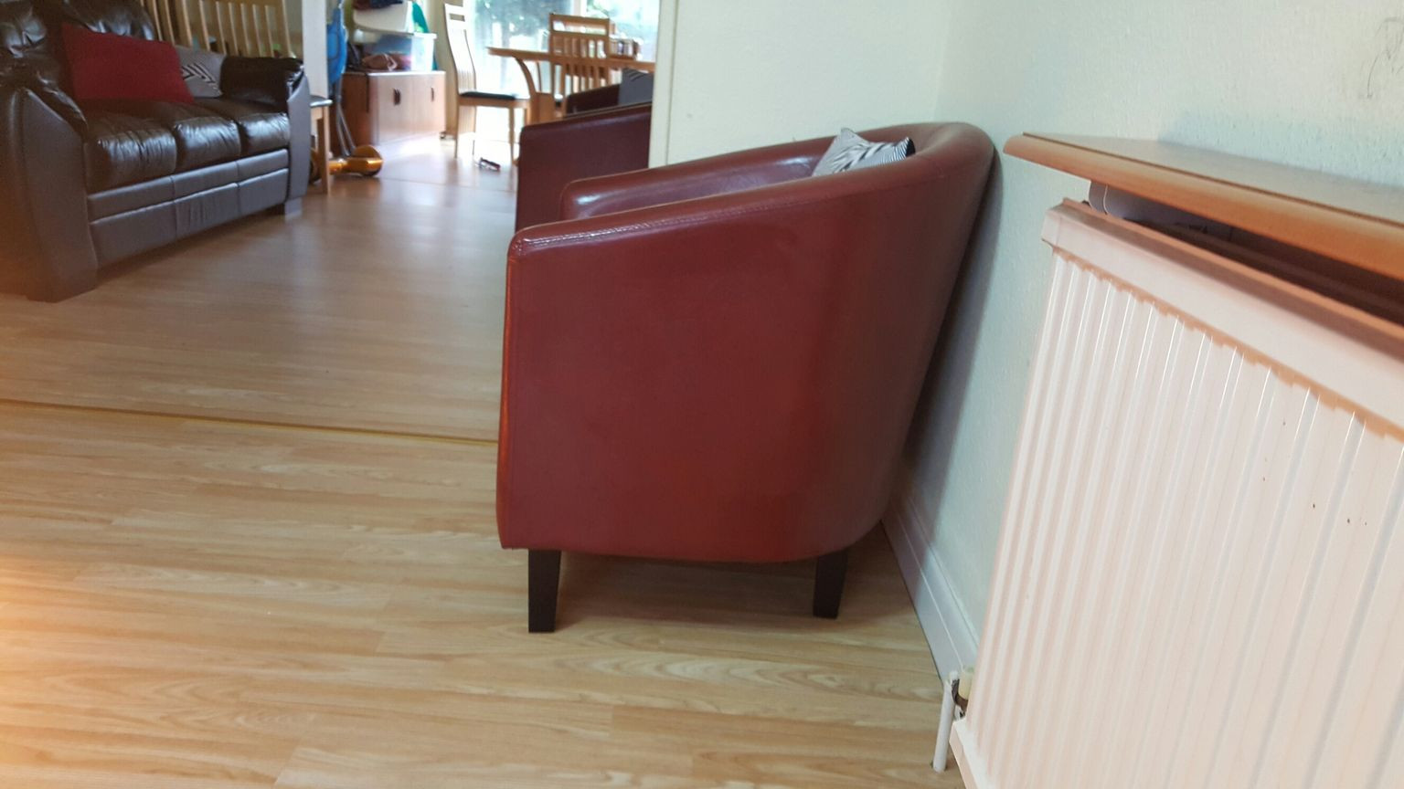 hardwood flooring sale gta of https en shpock com i wnvflguijqigmhej 2017 11 25t203102 intended for red leather sofa chairs 4