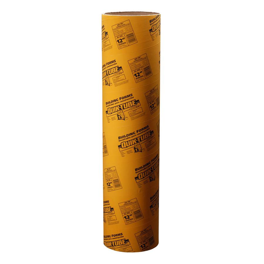 hardwood flooring spline lowes of shop quikrete common 12 in actual 11 5 in quik tube 48 in for quikrete common 12 in actual 11 5 in quik