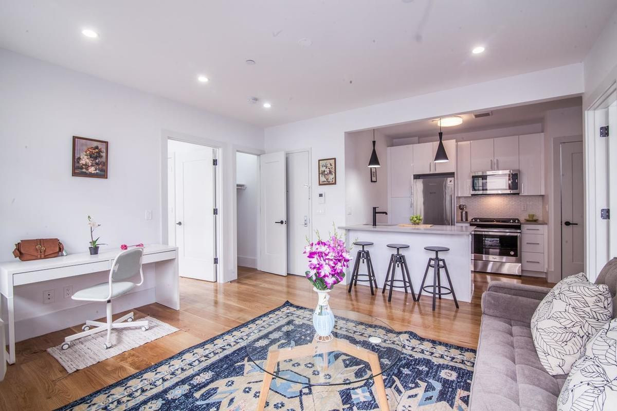 hardwood flooring sq ft price of what 750k buys in nyc right now curbed ny within a†'in bed stuy 750000 can buy you this 768 square foot condo that offers two bedrooms a sleek open kitchen a washer dryer french windows that allow for